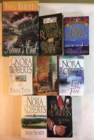 Nora Roberts Books Lot of 8 - Irish Hearts, MacGregor, Going Home, PB HB Lot