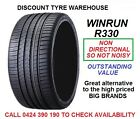 215/35R19 WINRUN R330 85W NON DIRECTIONAL TYRES NEW PICK UP BAYSWATER VIC