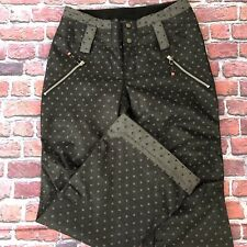Ride Snowboards Womens Snow Pants Size S/P Strata HDII Polka Dot