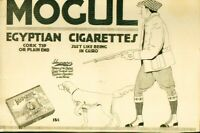 "Advertising Mogul Egyptian Cigarettes ""Just Like Being In Cairo"" 15c/Pack 1915 B"