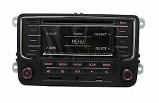 Autoradio RCN210 Bluetooth USB AUX CD SD MP3 for VW GOLF JETTA PASSAT Caddy POLO