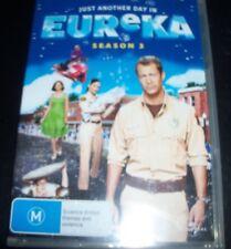 Eureka Season Three 3 (Australia Region 4) DVD – New