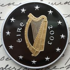 IRELAND. 2003 Silver 10 EURO. SPECIAL OLYMPICS. PROOF