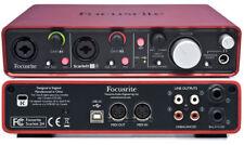 Focusrite Scarlett Studio  2i2 Usb Interface Pack W/ Hp Mic Xlr