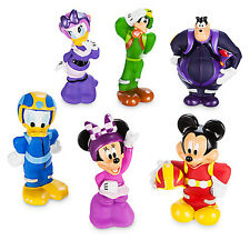 Authentic Disney Junior Mickey Mouse the Roadster Racers Squeeze Bath Toy Set