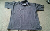 000 Mens Vintage Bugle Boy XL Pull Over Polo Style Shirt