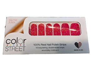 Color Street Sugar Factory Nail Polish Strips Retired Unicorn Partial Set