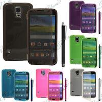 Coque Etui Portefeuille Livre Silicone Samsung Galaxy S5 i9600/ S5 Duos/ S5 Plus