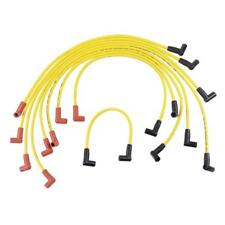 Accel Spark Plug Wire Set 4048; Super Stock 8.0mm Yellow for Chevy 350/400 SBC