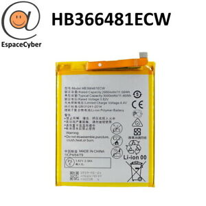 Battery HB366481ECW For Y6 Prime 2018 - Y7 3000 MAH