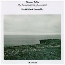 THOMAS TALLIS - THE LAMENTATIONS OF JEREMIAH (THE HILLIARD ENSEMBLE) CD-1987 ECM