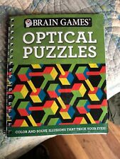 Brain Games Optical Puzzles, New
