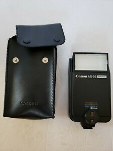 Canon AB-56 Automatic Camera Flash Not Tested with Case