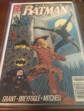 Batman 457 2nd Print Newsstand Edition 8.0 VF LESS THAN 50 IN EXISTENCE