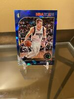 2019-20 Hoops Premium Stock Luka Doncic Blue Cracked Ice Prizm 2nd Year #3