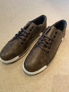 Mens Brown Casual Shoes Size 48 UK 12 /13
