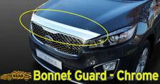 Chrome Front Bonnet Hood Guard Garnish Deflector K-863 for KIA Sorento 2016~2020