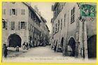 CPA France 74 - Vieux Quartiers d'ANNECY (Hte Savoie) La Rue de l'ILE