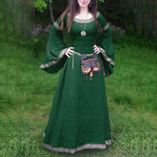 Vintage Ladies Medieval Cosplay Costume Dress Princess Renaissance Gothic Dress