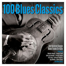 100 Blues Classics [Not Now Music] by Various Artists (CD, May-2017, 4 Discs, Not Now Music)