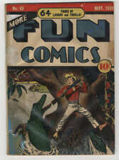 More Fun Comics #43 Restored No Back Cover DC Comics Golden Age