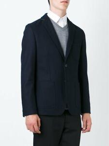 Hugo Boss Men's 'T-Marcoz11' Slim Fit Wool Blend Navy Sport Coat Blazer, 36R