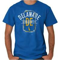 Vintage Delaware Sports University Souvenir Adult Short Sleeve Crewneck Tee
