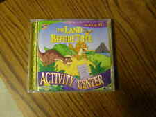 1077) The Land Before Time Activity Center  WIN/MAC CD-ROM Ages 4-8 SEALED