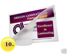 10 Mil Hot 5x7 Photo Laminating Pouches 5-1/4 x 7-1/4 [100] Clear Glossy