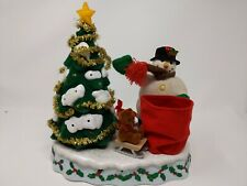 Avon A Wonderful Countdown to Christmas Snowman Advent Tree