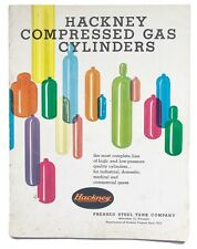 Vintage Hackney Milwaukee Compressed Gas Cylinders Catalog Pressed Steel Tank Co