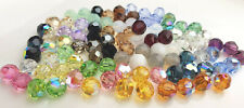 12 x SWAROVSKI 5000 CRYSTAL 8mm Round Faceted BEAD