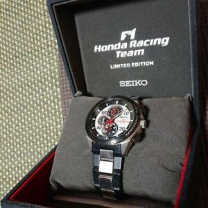 SEIKO Ignition Honda Racing F1 Team Model Watch Limited Edition Excellent