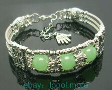 Jade Silver Bracelets Asian Jewellery