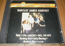 BARCLAY JAMES HARVEST - TWICE AS MUCH RARE ORIGINAL GERMAN IMPORT 2 x CD