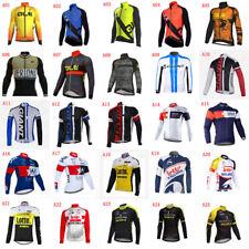 2020 Mens Team Bike Cycling Jersey Cycling Jersey Long Sleeve Bicycle Jerseys