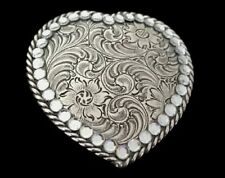 Nice Rhinestone Heart Love Cool Belt Buckle Buckles