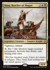 Ixalan ~  VONA, BUTCHER OF MAGAN mythic rare Magic the Gathering card