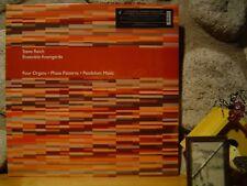 STEVE REICH/ENSEMBLE AVANTGARDE Four Organs/Phase Patterns/Pendulum Music LP