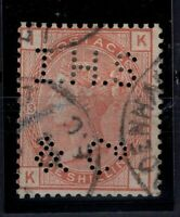 Q139799/ GREAT BRITAIN – VICTORIA – SG # 163 USED – PLATE 13 – CV 235 $