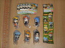 Bandai Naruto Shippuden Swing Strap Part 6 Gashapon Full Set of 6pcs 2009 last