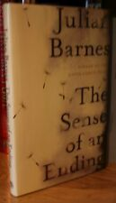 JULIAN BARNES + THE SENSE OF AN ENDING + SIGNED U.K 1ST EDITION / 1ST PRINTING