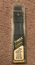 Timex 22mm Rubber Black Replacement Watch Band TX2232