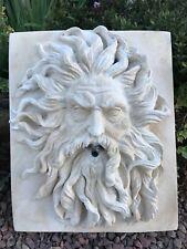 Neptune Water Feature / Stone Sculpture / Christine Baxter
