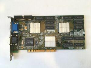 3DFX Voodoo 2 Diamond Monster 3D II PCI 8MB 100MHz RAM Graphics Card Working