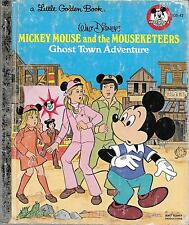 Mickey Mouse and the Mouseketeers : Ghost Town Adventure.Nice.Little Golden Book