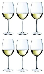 Large Burgundy Red white wine glasses -box of 6- PROMOTIONAL PRICE!! RRP:£29.99