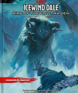 D&D Icewind Dale Rime Of The Frostmaiden Manuale Inglese Dungeons Dragons 🤩🤩