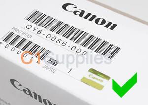 Original Canon Druckkopf QY6-0086-000 Printhead Pixma ix6850 MX720 MX725 MX925
