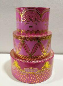 Benefit Pink Birthday cake metal tin gift empty box